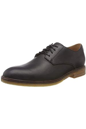 Clarks Clarkdale Moon, Zapatos de Cordones Derby para Hombre, (Black Leather)