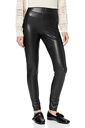 Only Onlsuper-Star PU Legging Pnt Leggings, Black