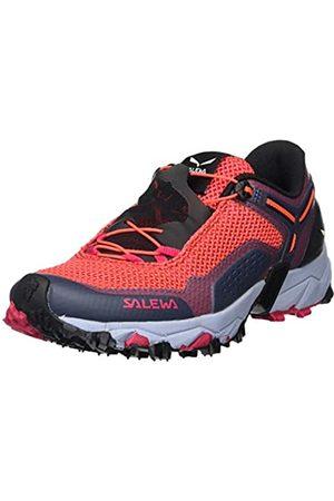 Salewa WS Ultra Train 2, Zapatillas de Running para Asfalto para Mujer, (Virtual Pink/Fluor Coral 6157)