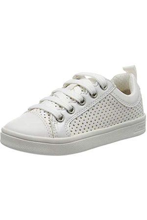 Geox J Djrock Girl A, Zapatillas para Niñas, (White C1000)