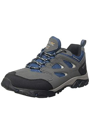 Regatta Holcombe Iep Low Rise Hiking Boot, Zapatillas de Senderismo para Hombre, (Granite/Blue Wing Qy4)