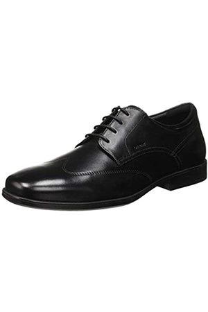 Geox U Calgary C, Zapatos con Cordones Derby para Hombre, (Black C9999)