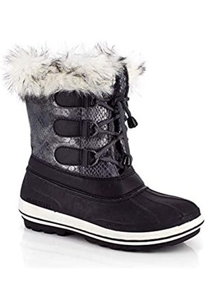 Kimberfeel Titi - Botas de Nieve para niña, Color Burdeos