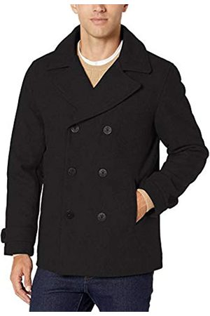 Amazon Wool Blend Heavyweight Peacoat Outerwear-Coats