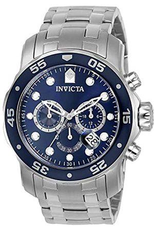 Invicta 0070 Pro Diver - Scuba Reloj para Hombre acero inoxidable Cuarzo Esfera