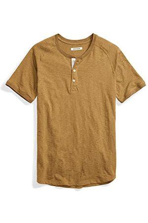 Goodthreads Marca Amazon - Short-Sleeve Lightweight Slub Henley Camicia