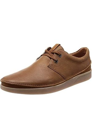 Clarks Oakland Lace, Zapatos de Cordones Derby para Hombre, (Tan Leather-)