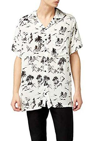 Lower East Le209 Camiseta Cuello Alto Hombre Pack de 2