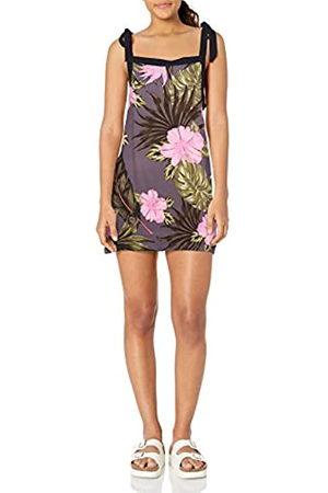 Hurley W Printed Woven Tie Dress Vestido, Mujer