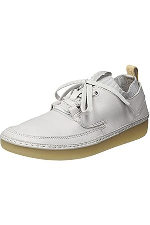 Clarks Nature IV, Zapatillas para Mujer, (Ice Blue Leather)