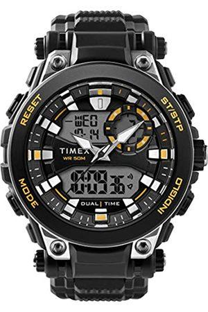 Timex Reloj Analógico-Digital para Hombre de Cuarzo con Correa en Resina TW5M30500