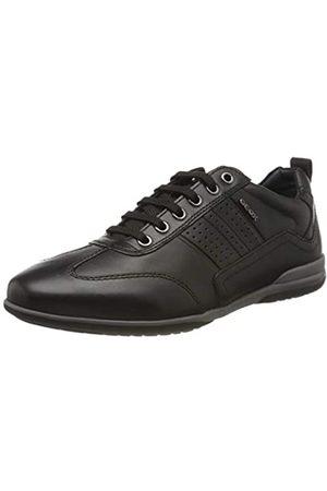 Geox U Timothy A, Zapatos de Cordones Derby para Hombre, (Black C9999), 41
