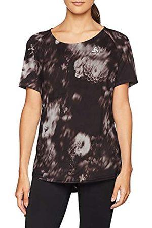 Odlo Top Crew Neck S/S Millennium Element - Camiseta para Mujer, Primavera/Verano, Mujer