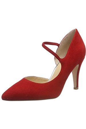 Caprice Effi, Mocasines para Mujer, (Red Suede 524)