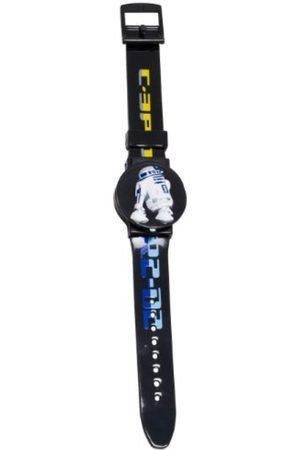 STAR WARS Clone Wars - Reloj Digital de Cuarzo Unisex con Correa de plástico