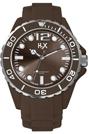 Haurex Reloj Analógico para Hombre de Cuarzo con Correa en Caucho SM382UM1
