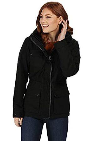 Regatta Lizbeth Chamarra de Invierno Impermeable y Transpirable con Aislamiento térmico y Capucha de Piel Oculta para Mujer, Mujer