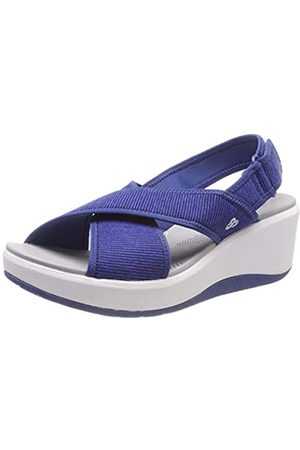 Clarks Step Cali Cove, Zapatillas para Mujer, (Blue-)
