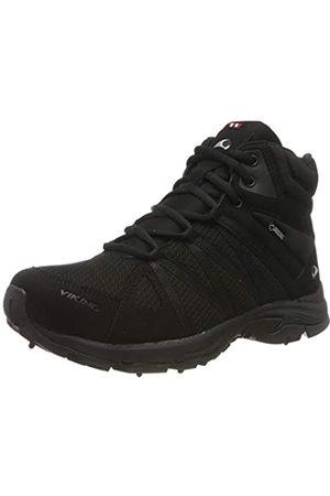 Viking Komfort Mid Spikes GTX W, Zapatos de High Rise Senderismo para Mujer, (Black 2)