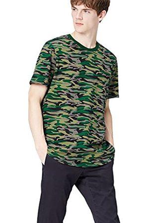 FIND Camo Zip Back, Camiseta para Hombre