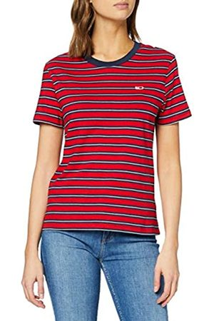 Tommy Hilfiger Tjw Tommy Classics Stripe tee Camiseta de Manga Corta