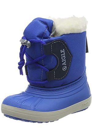 Aigle Nervei Junior, Botas de Nieve Unisex Niños, (Cobalt 001)