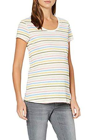 Esprit T-Shirt SS AOP Camiseta premamá, (Off White 110)