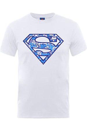 DC Camiseta de Manga Corta con Cuello Redondo para Hombre