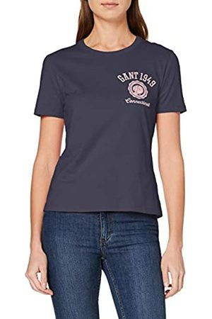 GANT D1. Peony Logo Graphic SS T-Shirt Camiseta