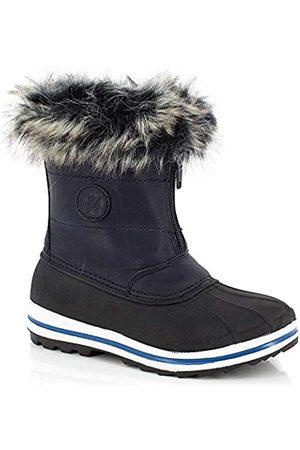 Kimberfeel Avalanche - Botas de Nieve para niño, Color Antracita