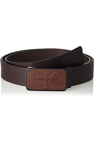 Calvin Klein J 3.5cm Adj Mono Plaque Belt Cinturón
