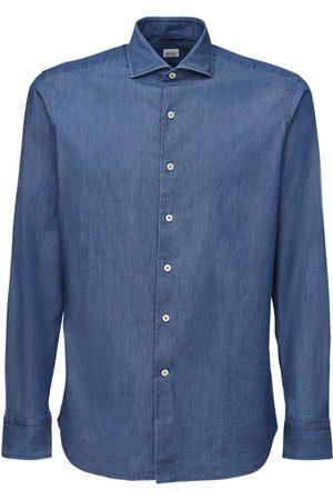 ALESSANDRO GHERARDI | Hombre Camisa De Denim De Algodón 38