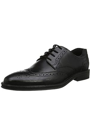 Hotter Cambridge, Zapatos de Cordones Brogue para Hombre, (Black 1)
