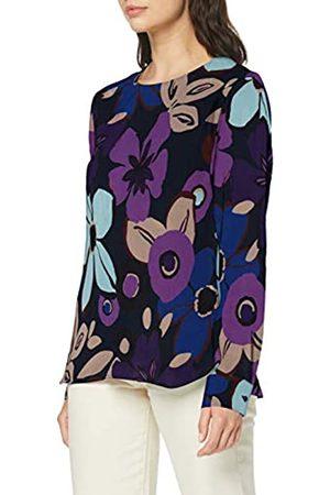 Seidensticker Shirtbluse Langarm Modern fit Blumendruck-100% Cupro Blusa