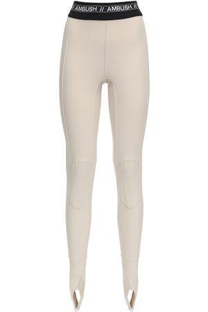 AMBUSH | Mujer Pantalones De Scuba Con Logo 1