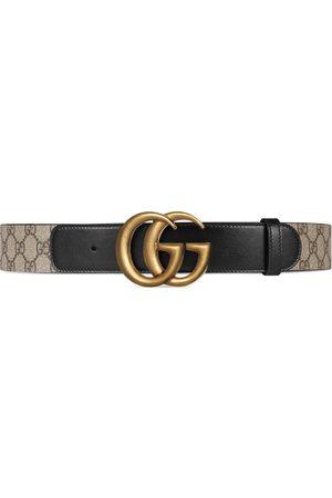 Gucci Cinturones - Cinturón GG con hebilla Doble G