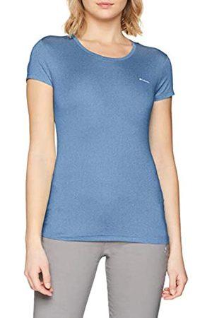 Columbia Mujer Camiseta, PEAK TO POINT NOVELTY SHORT SLEEVE, Poliéster, Talla: XL