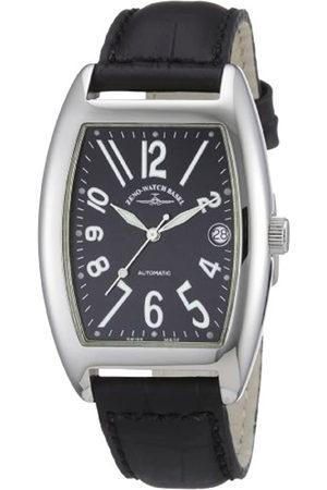 Zeno Reloj analógico Unisex de Cuero