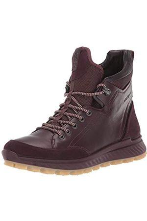 Ecco Exostrike W, Zapatos de High Rise Senderismo para Mujer, Morado (Fig/Fig 51502)