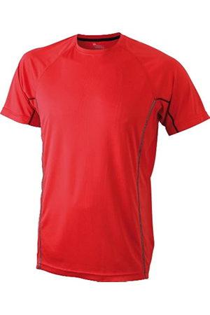 James & Nicholson Men's Running Reflex-T - Camiseta de Running para Hombre, Color /