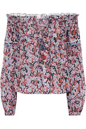 POUPETTE ST BARTH Exclusivo en Mytheresa - blusa Clara de algodón floral