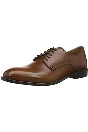 Geox U Saymore C, Zapatos de Cordones Derby para Hombre, (Cognac C6001)