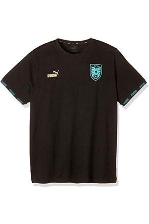 Puma Öfb Ftblculture tee Camiseta, Hombre, Black