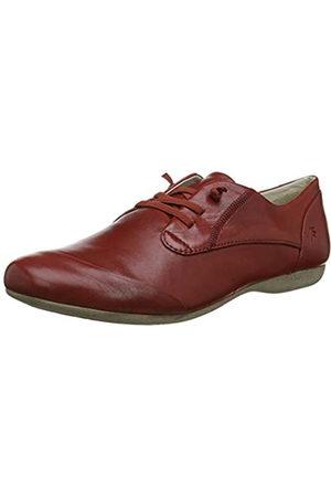 Josef Seibel Fiona 01, Zapatos de Cordones Derby para Mujer, Rosso (Rubin 971 396)