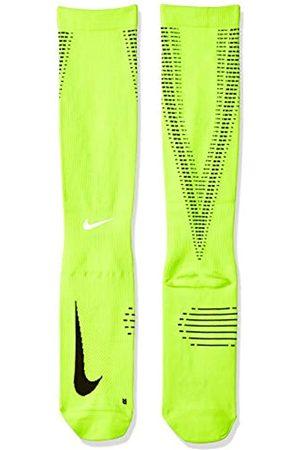 Nike U NK ELT Comp OTC Calcetines, Hombre, (Volt/Black/Reflect Silver)