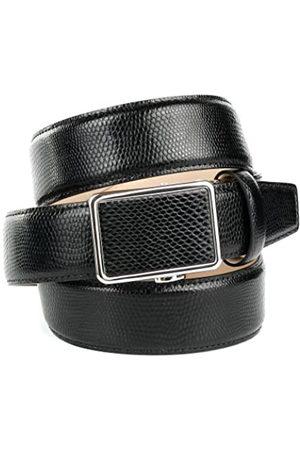 Anthoni Crown 17V10, Cinturón para Hombre, (Schwarz 010)
