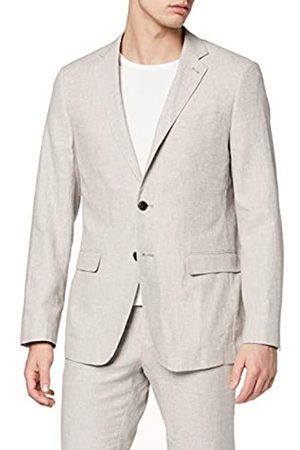 FIND Marca Amazon - Blazer de lino para hombre de 38