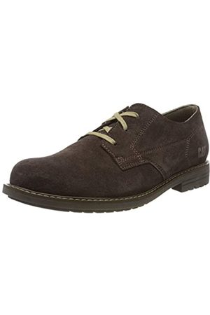 Cat Footwear Ethan, Zapatos de Cordones Derby para Hombre, (Coffee Bean Dark Brown)