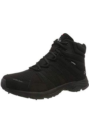 Viking Komfort Mid Spikes GTX M, Zapatos de High Rise Senderismo para Hombre, (Black 2)