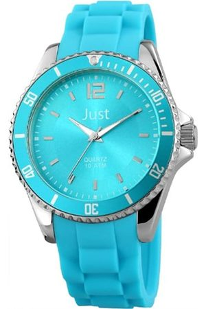 Just Watches Unisex-Reloj analógico de Cuarzo de Caucho 48-S3862-HBL